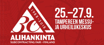 Dahl on mukana Alihankinta-messuilla Tampereella 25.-27.9.