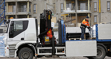 Dahlin kuljetuspalvelu saa työmaaprojektit rullaamaan